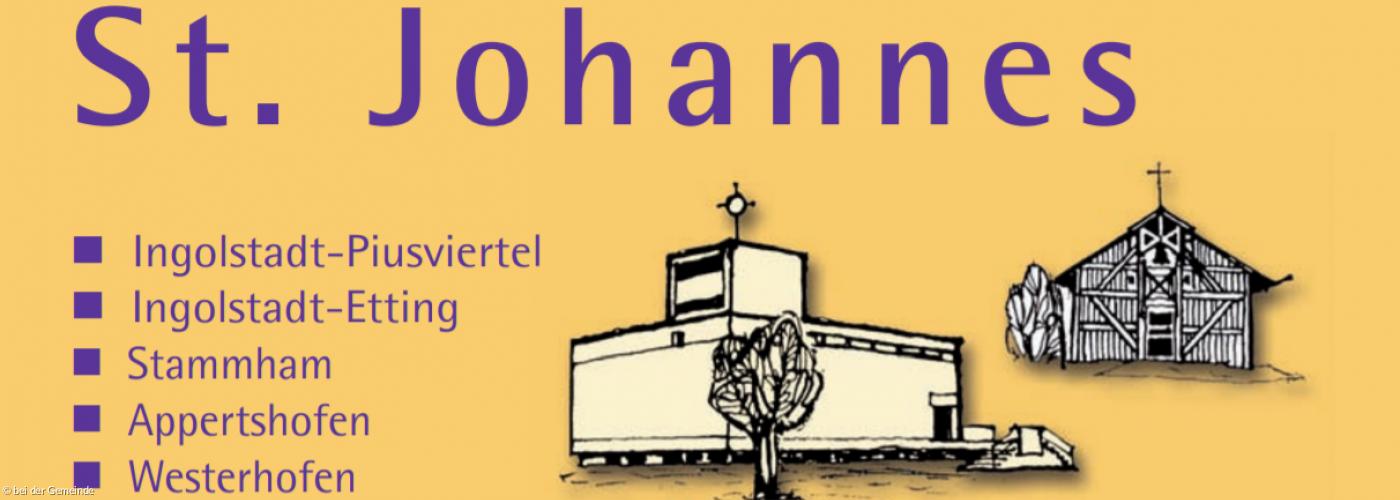 Die Titelseite des Gemeindebriefs der Kirchengemeinde St. Johannes